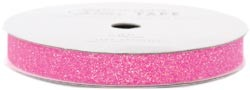 "American Crafts Glitter Tape - Begonia - (3/8"" x 3 yards)"
