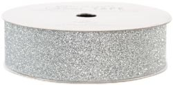 "American Crafts Glitter Tape - Silver - (7/8"" x 3 yards)"