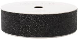 "American Crafts Glitter Tape - Black - (7/8"" x 3 yards)"