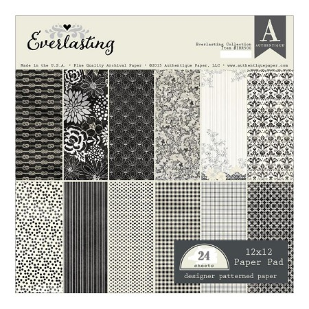 Authentique - Everlasting Collection - 12x12 paper pad :)