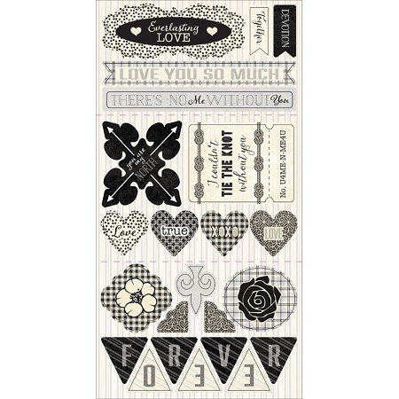 Authentique - Everlasting Collection - 6x12 Components Die Cuts