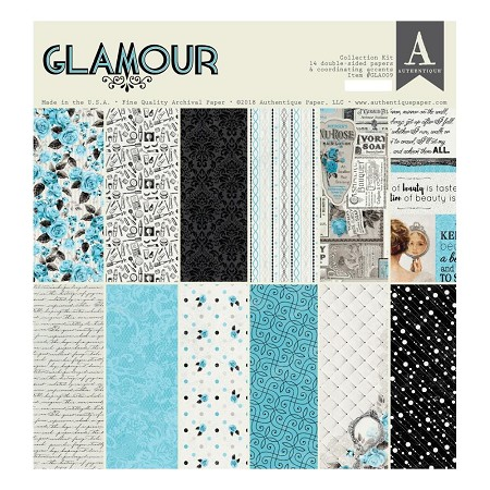 Authentique - Glamour Collection - Collection Kit