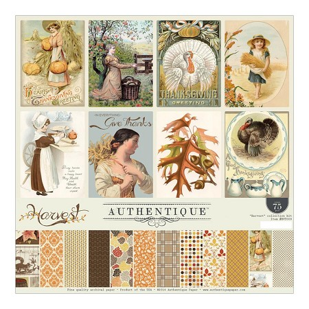 Authentique - Harvest Collection - Collection Kit