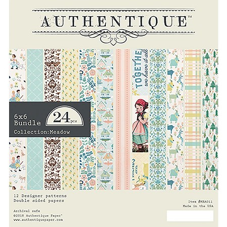 Authentique - Meadow Collection - 6x6 Paper Pad