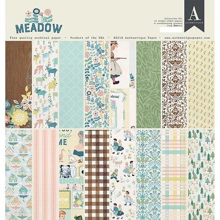 Authentique - Meadow Collection - Collection Kit