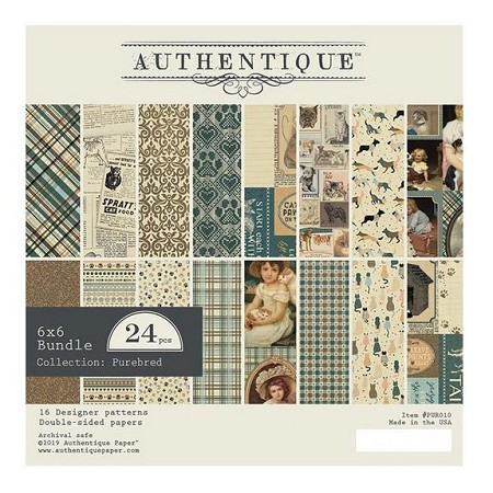 Authentique - Purebred Collection - 6x6 Paper Pad
