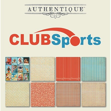 Authentique - All Star Club Sports 6x6 Paper Pad