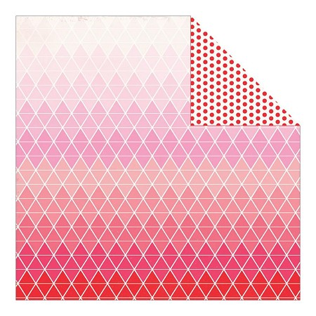 "Authentique - Crush Collection - 12""x12"" Double Sided Cardstock - Symetry"
