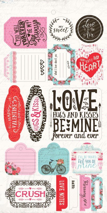 "Authentique - Crush Collection - 6""x12"" Component Die Cuts"