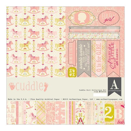Authentique - Cuddle Girl Collection - Collection Kit :)