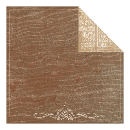 "Authentique - Durable Collection - 12""x12"" Double Sided Cardstock - Ledgendary Woodgrain"