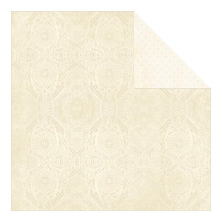"Authentique - Faith Collection - 12""x12"" Double Sided Cardstock - Confirmation"