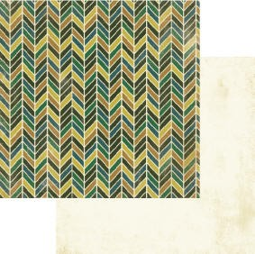Authentique-Paper-6x6-Freebird-Multi Color Chevron