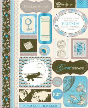 Authentique-Journey-Die Cut Sheets-Icons