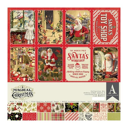 Authentique - A Magical Christmas Collection - Collection Kit