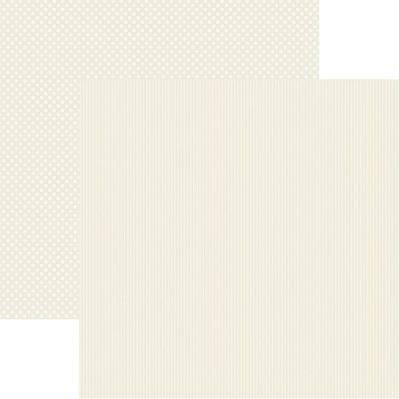 "Authentique - Spectrum Antique Lace Dot/Stripe 12""x12"" Textured Cardstock"