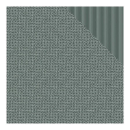 "Authentique - Spectrum Series - Cobblestone Pinwheel/Stripe 12""x12"" Double Sided Cardstock"