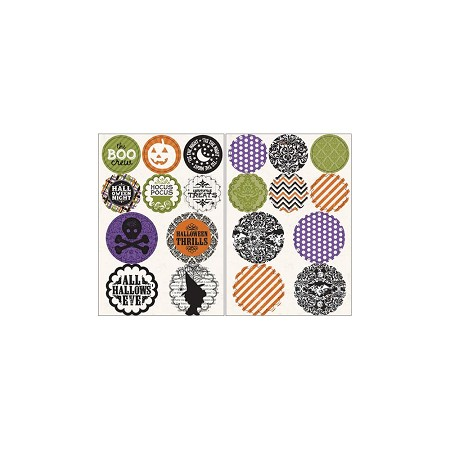 Authentique - Spirited Collection - Circles & Scallops Die Cuts