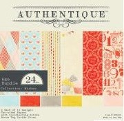 "Authentique - Wishes Collection - 6""x6"" Paper Pad :)"