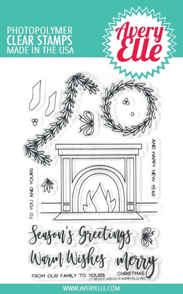 Avery Elle - Clear Stamps - Fireside