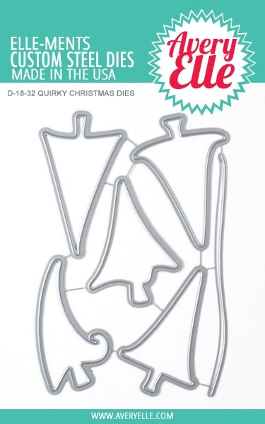 Avery Elle - Elle-ments Dies - Quirky Christmas