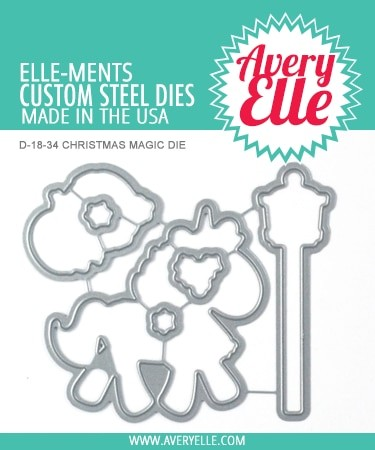 Avery Elle - Elle-ments Dies - Christmas Magic