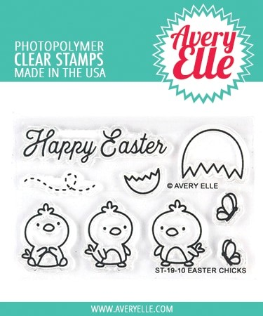 Avery Elle - Clear Stamps - Easter Chicks