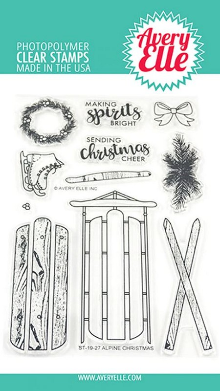 Avery Elle - Clear Stamps - Alpine Christmas