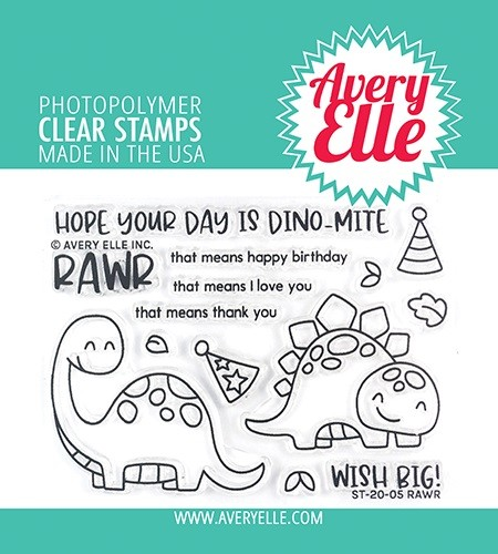 Avery Elle - Clear Stamps - Rawr