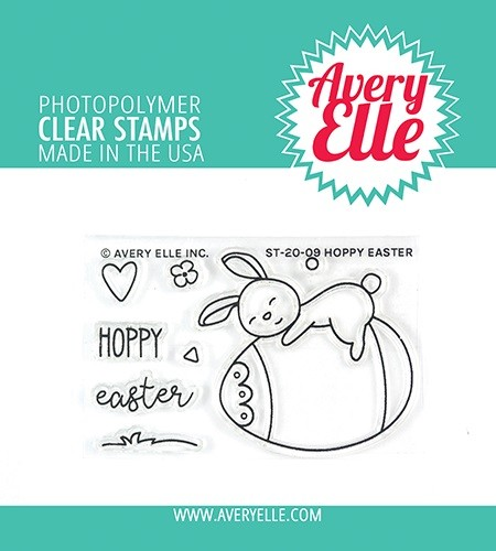 Avery Elle - Clear Stamps - Hoppy Easter