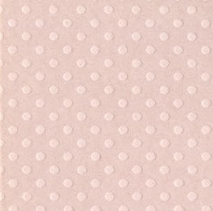 "Bazzill 12"" x 12"" Cardstock-(dotted swiss)-Sunset rose"