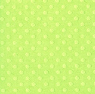 "Bazzill-12""x12"" Cardstock (dotted swiss)-Celtic Green"