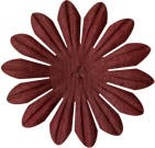 "Bazzill-Paper Flowers-Flowers & Leaves-2"" Daisy-Barkley"