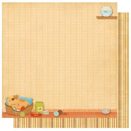 "Best Creation - Meow Collection - 12"" x 12"" Glitter Cardstock - Cat Nap Time"