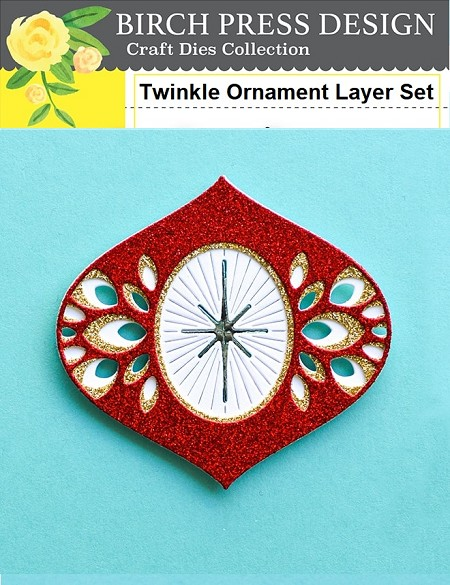 Birch Press - Cutting Die - Twinkle Ornament Layer Set
