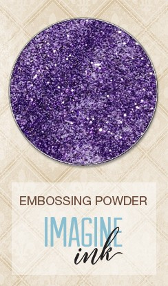 Blue Fern Studios - Imagine Ink Embossing Powder - Lavender Eggs (1oz)