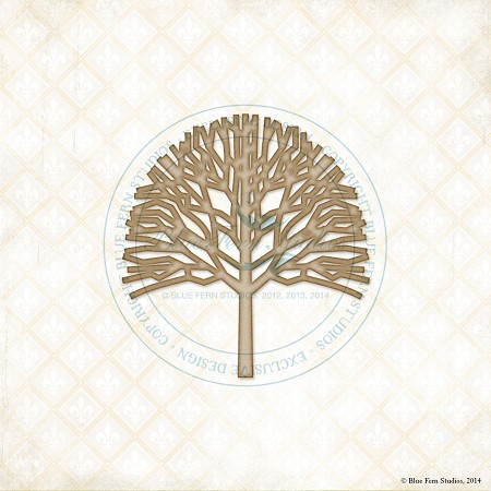 Blue Fern Studios - Chipboard - Poplar Tree