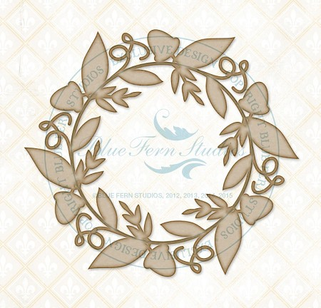 Blue Fern Studios - Chipboard - Autumn Leaves