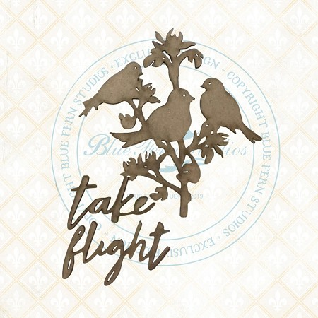 Blue Fern Studios - Take Flight Chipboard