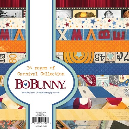 Bo Bunny - Carnival Collection - 6x6 Paper Pads :)