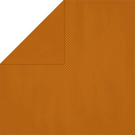 Bo-Bunny - Double Dot Cardstock - Rust Dot