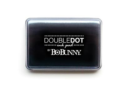 Bo Bunny - Double Dot Pigment Ink Pad - Licorice Ink Pad :)