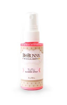 Bo Bunny - Double Dot Glimmer Spray - Tutu :)