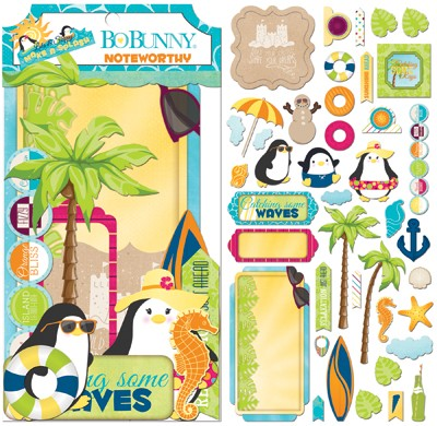 Bo Bunny - Make A Splash Collection - Noteworthy Die-Cuts