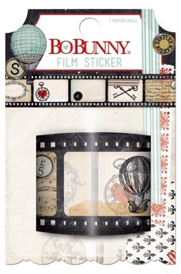 Bo Bunny - Star-Crossed Collection - Film Sticker