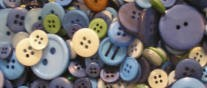 Button Bonanza - Ocean Blue