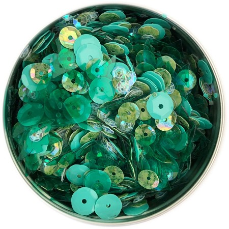 28 Lilac Lane/Buttons Galore - Sequin Tin - Spring Meadow