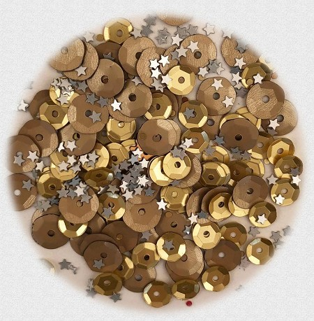 28 Lilac Lane/Buttons Galore - Premium Sequins - Metal