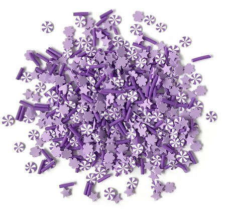 Buttons Galore - Sprinkletz - Orchid