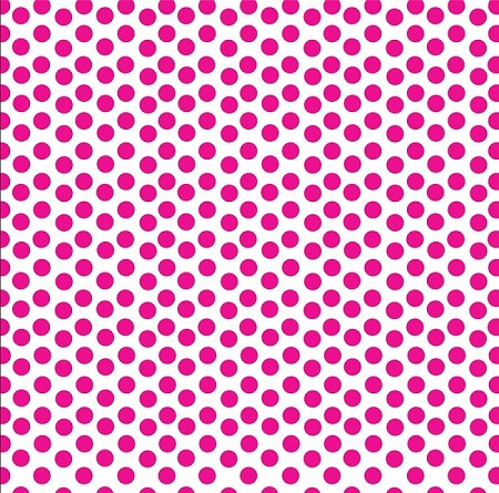 Canvas Corp - 12x12 Cardstock - Hot Pink and White Dot